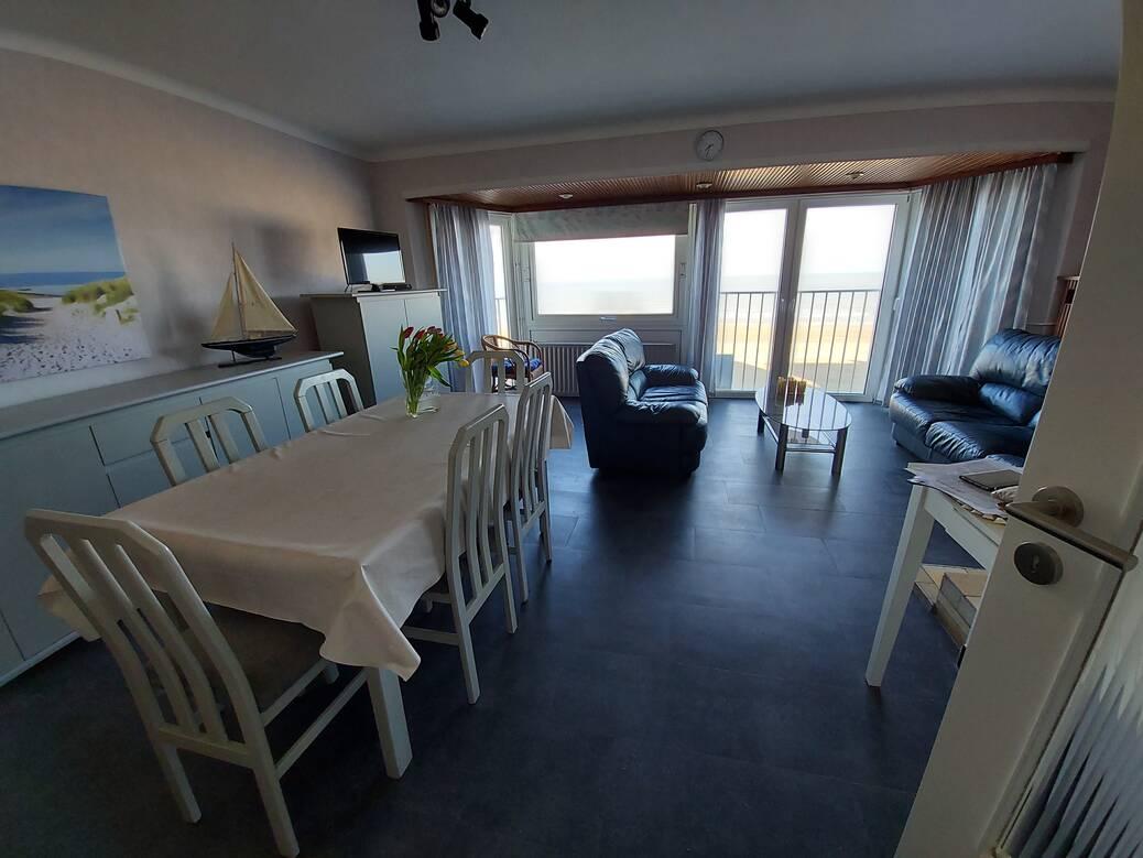 Koksijde - Apt 2 Slpkmrs/Chambres - Zeedijk 241